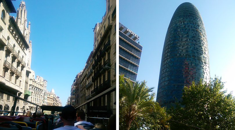 barcelona spain hop on hop off tour ps
