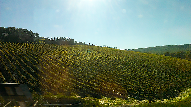 tuscany countryside train ps