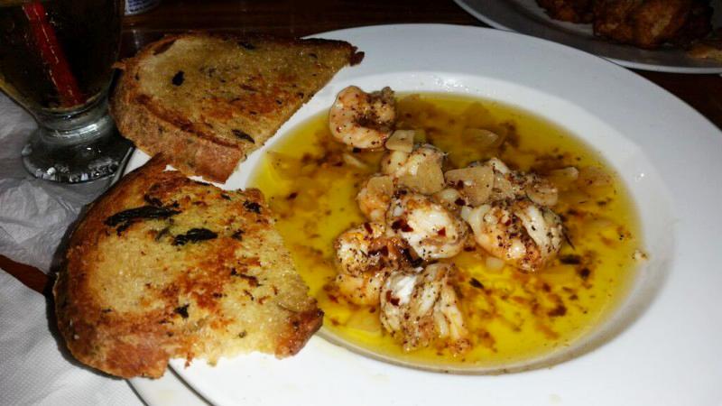 Fidos-shrimp-belize food pS