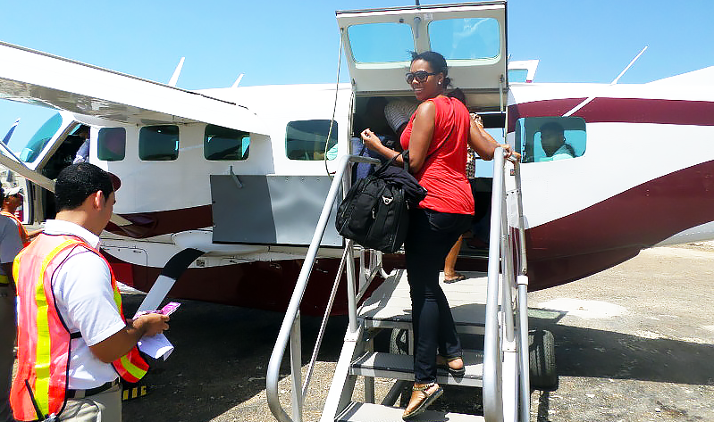 tropic-air Belize - Travel with Mia - Ambergris Caye