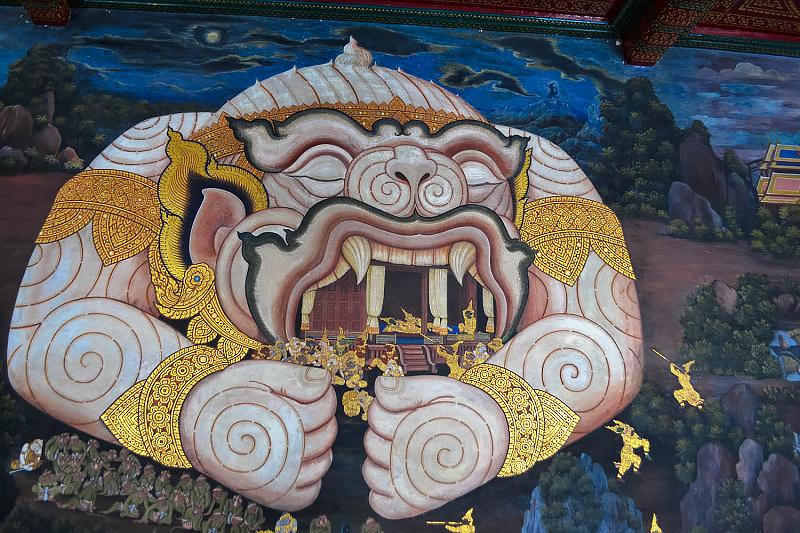 thailand bangkok wat po art