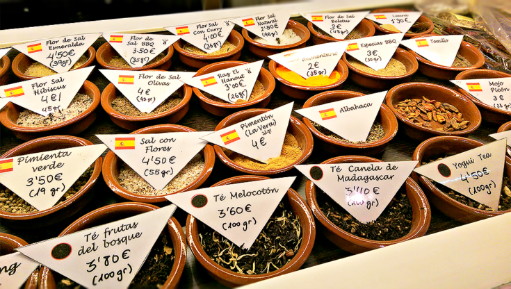 spices edit madrid markets spain