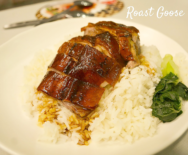 Roast Goose hong kong eating adventures kowloon
