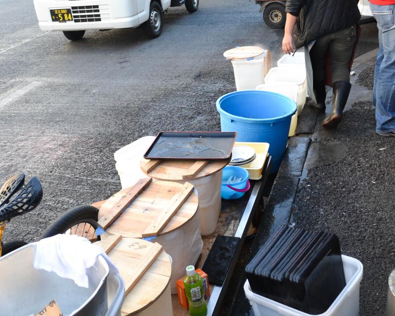 tsukiji fish market, ramen