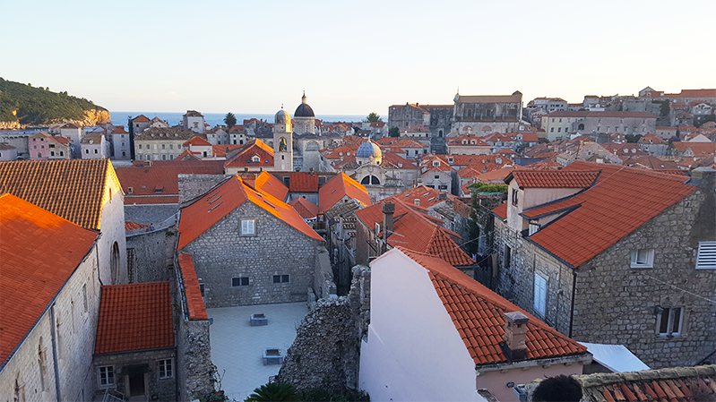 dubrovnik croatia city walls PS-