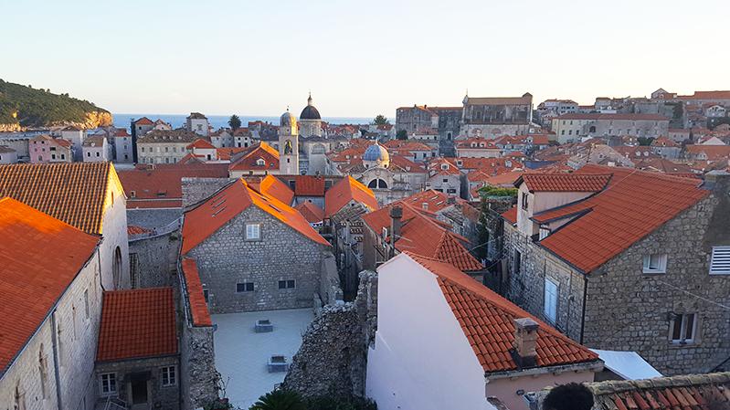 dubrovnik croatia city walls PS-