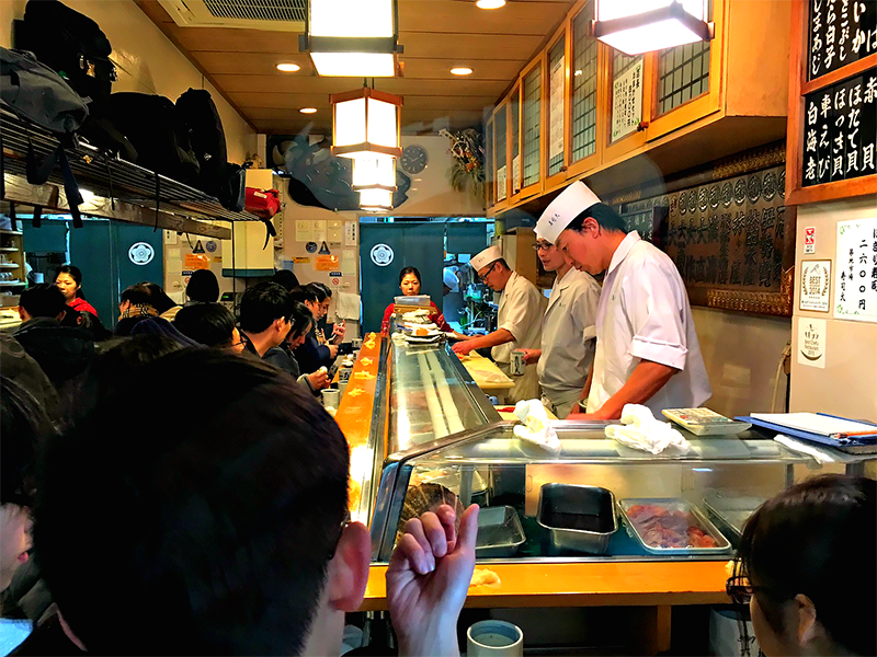 sushi dai end of counter ps