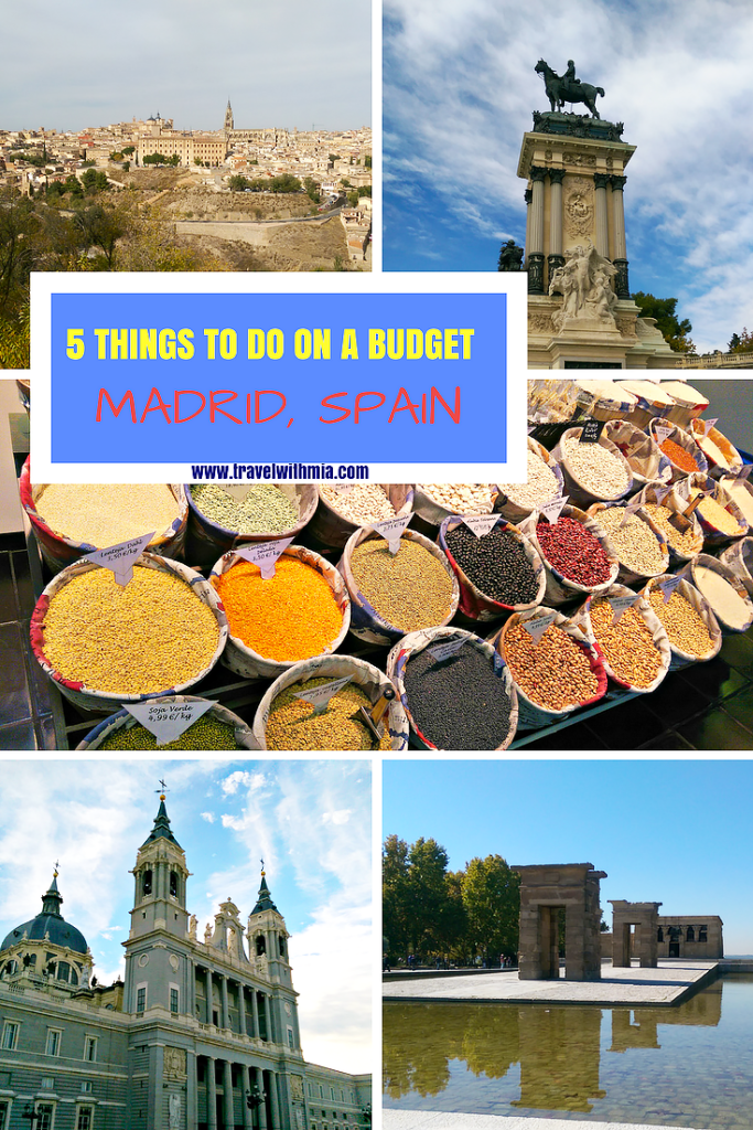 5 THINGS TO DO ON A BUDGET Madrid Pinterest-