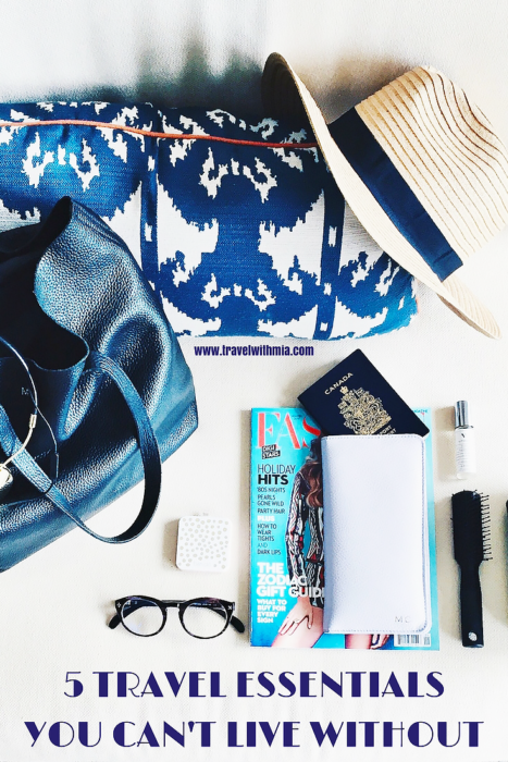5 TRAVEL ESSENTIALSYOU CAN'T LIVE WITHOUT (jpeg) png