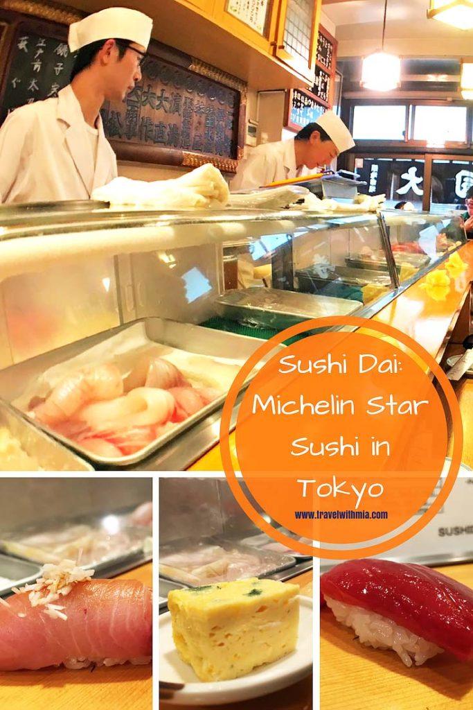 Sushi Dai-Michelin Star Sushi in Tokyo Pinterest jpeg