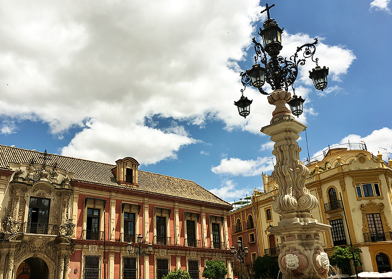 Travel with Mia - Kansas City European Charm - Seville Fountain