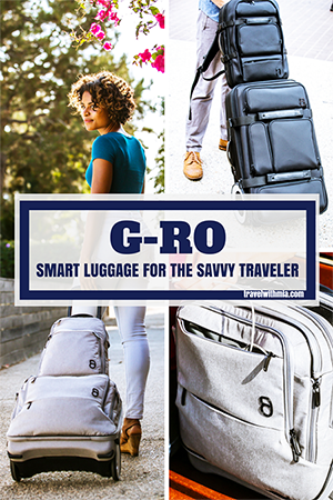 G-RO- Smart Luggage forthe Savvy Traveler - Pin it Small