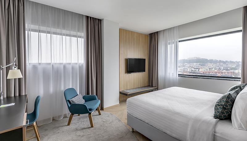 Travel with Mia - Courtyard Marriott Brno - Room Main