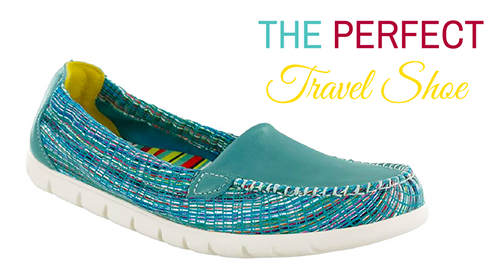 THE PERFECT travel shoe sas sunny travel with mia SMALLER