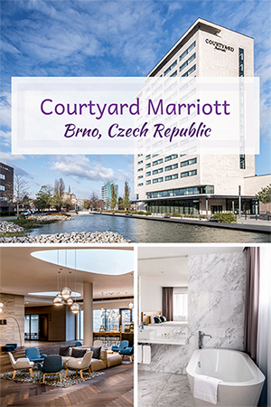 Travel with Mia - Courtyard Marriott Brno Czech Republic Review