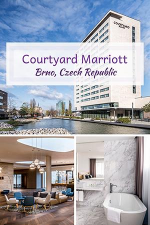 Travel with Mia - Courtyard Marriott Brno Czech Republic Review
