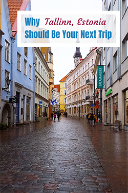 Tallinn Estonia - Old Town Streets - Travel with Mia Pinterest s