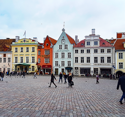 Tallinn Estonia - Old Town - Travel with Mia